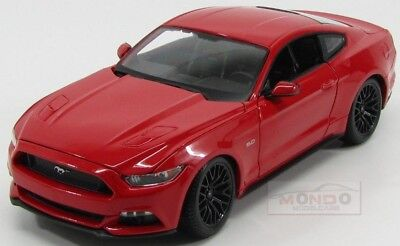 Ford Usa Mustang Coupe 5.0 Gt 2015 Red Maisto 1:18 MI31197R Model