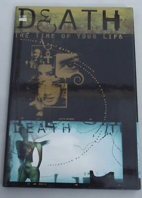 DEATH THE TIME OF YOUR LIFE  HARDCOVER GRAPHIC NOVEL ...NM-  .1997 ...Bargain!