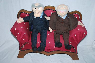Muppets Show Waldorf & Statler mit extra  großem Sofa Couch