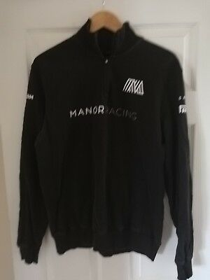 Manor Marussia F1 Long Sleeve Pit Crew Top Size Large.