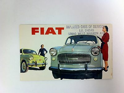 Fiat 500 600 Convertible Multipla 1100 1200 Brochure - #(F-31)