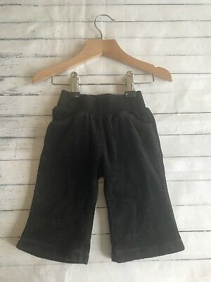 Baby Girls Clothes 3-6 Months - Pretty  Velour Designer Trousers -
