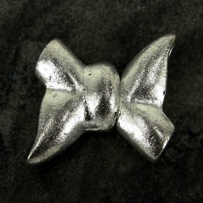 Silver Plated magnetic Bow Knot Clasps Sets Jewellery Findings K14