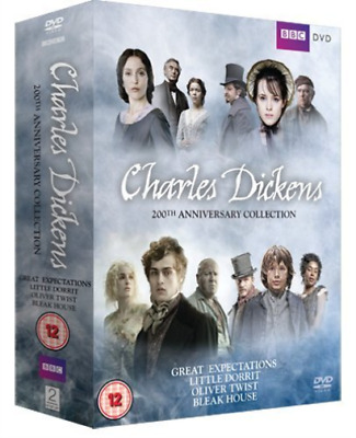 Oscar Kennedy, Ray Winstone-Charles Dickens 200th Anniversary Collection DVD NEW