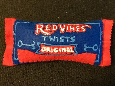 LUCY SPARROW MART Red Vines Licorice SIGNED Candy Felt Contemporary Pop Art
