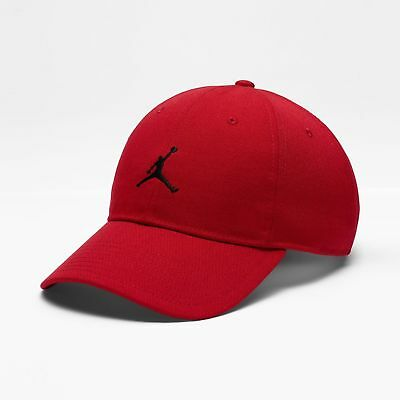 b9405ec941bd5 Nike Air Jordan Jumpman Heritage 86 Adjustable Hat Red   Black 847143 687  New