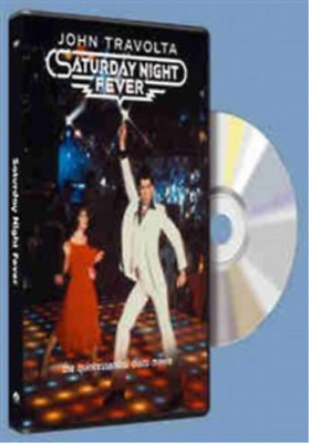 John Travolta, Karen Gorney-Saturday Night Fever DVD NEW