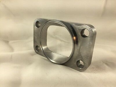 """T3 Turbo Inlet Flange To 2.5"""" Pipe, Undivided, Smooth Airflow , US MADE"""