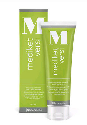 Mediket Versi Cleansing Gel 120ml Tinea Versicolor, Seborrhoea