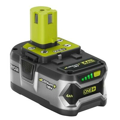 NEW OEM RYOBI P108 18V ONE+ LITHIUM-ION HIGH CAPACITY 4.0Ah BATTERY PACK W/ LEDS