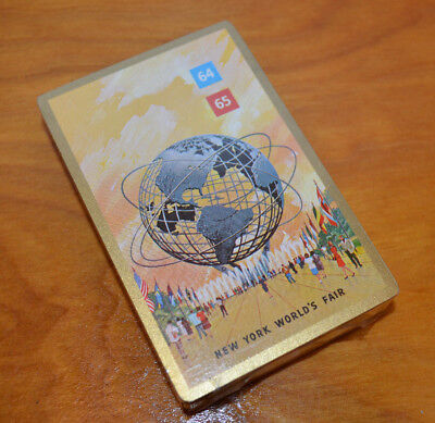 Vintage 1964 1965 New York World's Fair Playing Card Deck New Sealed Collectible