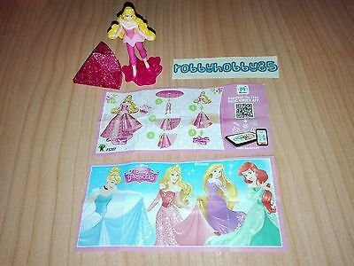 Fs307 Aurora + Bpz Variante Hong Kong Kinder Joy 2017 Disney Princess