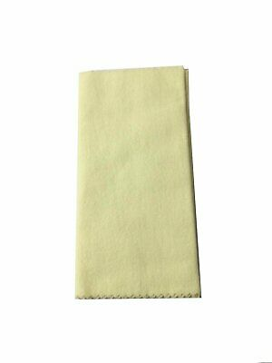 """Herco Lacquer Cleaning Cloth - Cleans & Polishes 7x16"""" (inch) cloth Brass"""