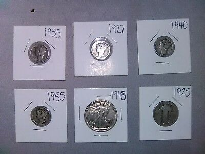 US 90%  Silver coin lot