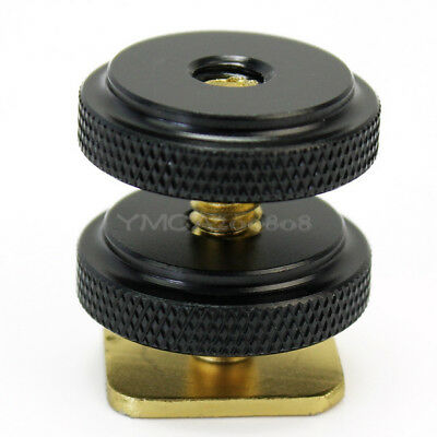 "High Quality 1/4"" Tripod Screw to Flash Hot Shoe Mount Adapter For DSLR Camera"