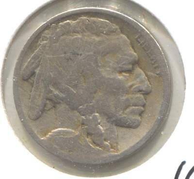 US 1919 Indian Buffalo Nickel - American Five Cent Coin - Philadelphia Mint