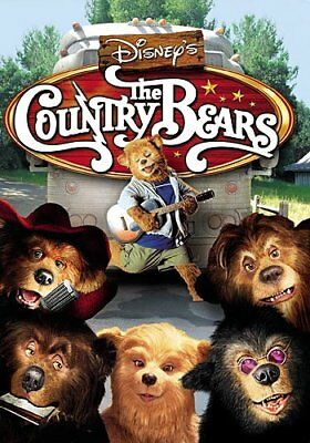 THE COUNTRY BEARS New Sealed DVD Disney