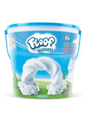 Floof  Bucket 240gm-Just Like Kinetic Snow-Soft Feel-Kids Will Love it!