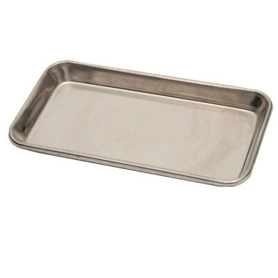 Surgical Dental Tray Dish Lab 22*11*2cm Silver Basin Instrument Stainless Steel