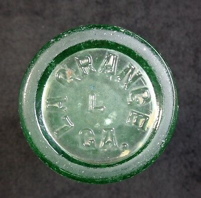 Coca Cola Bottle - US Patent Office - LA GRANGE GA - Large Letters Coke