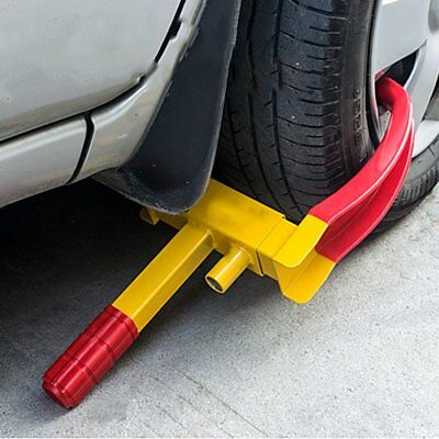 Car Wheel Clamp Disc Lock Anti Theft Caravan Motorhome Car High Security R