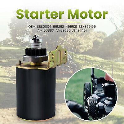 Starter Motor for Briggs Stratton 16 tooth Heavy Duty and Ride on Mower AM106883