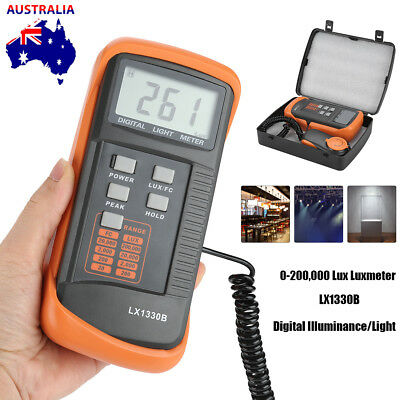 0.1~200000 Digital Illuminance Luxmeter Light Meter LCD Measuring Tester LX1330B
