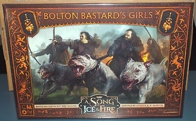 A Song of Ice and Fire Tabletop Miniatures Game Bolton Bastard's Girls