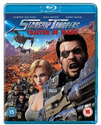 Starship Troopers Traitor Of Mars BLU-RAY NEW