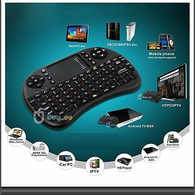 2,4GHz Wireless Funktastatur USB Maus Tastatur Keyboard Touchpad Fernbedienung