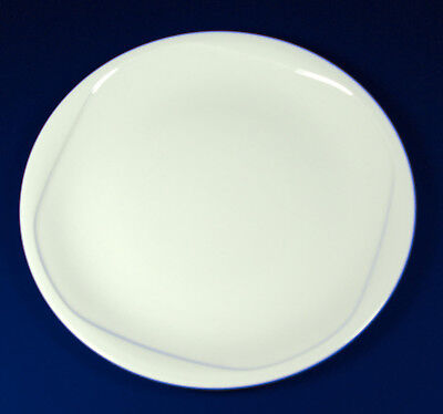 "Dudson Plaza Plates 25.4(Ø) mm/ 10"". White"