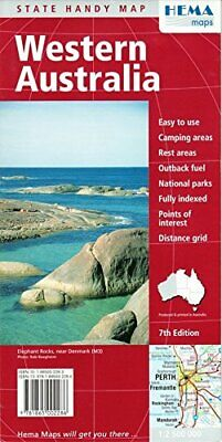Western Australia: Deluxe Edition Sheet map Book The Cheap Fast Free Post