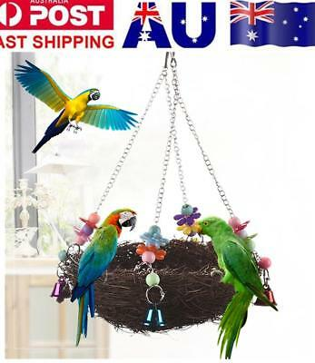 Parrot Toy For Parrots Bird Toys Swing Climb African Grey Macaws Cockatoo Cage