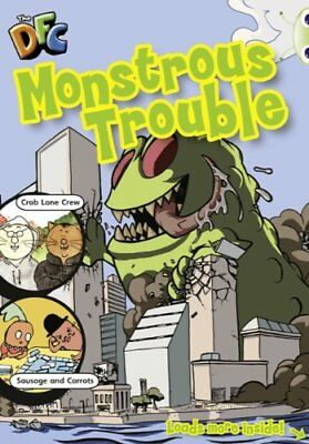 Lime Comic: Monstrous Trouble (BUG CLUB) by Simmonds-Hum, Zak Book The Cheap