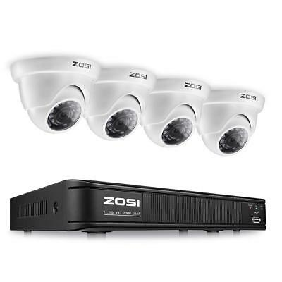 Security Camera System 1080P Wireless DVR Kit HD IR WIFI CCTV Outdoor or Indoor