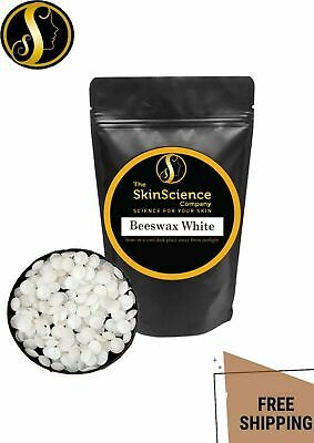 Beeswax Pellets White For Natural Hand Cream Lip Balm Candles DIY Skincare