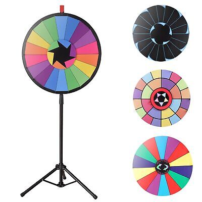"""WinSpin® 24"""" Prize Wheel Floor Stand Spin Game Tripod Tradeshow Fortune Lottery"""