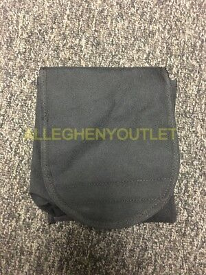 USGI General Purpose Textile Bag Pouch w/ Alice Clips Black NEW IN BAG