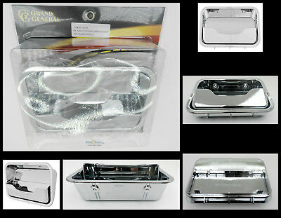 AC heater control cover chrome plastic Freightliner Cascadia 2008 /& up dash