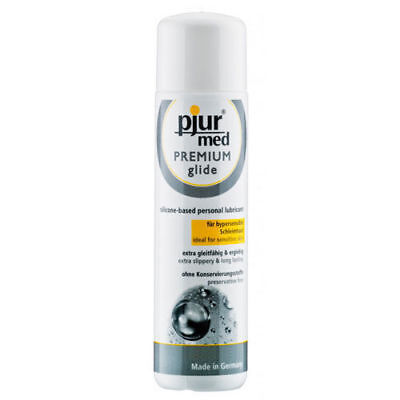 Pjur Med Premium Glide Personal Lubricant 100ml Silicone Based