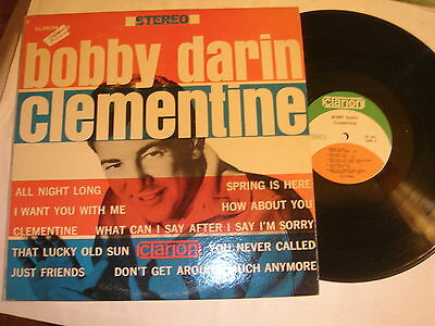 BOBBY DARIN LP on ORIGINAL. CLARION LABEL #603 STEREO - CLEMENTINE
