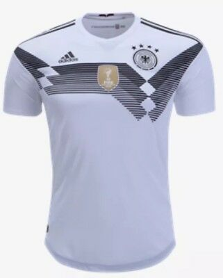 21d5ff502 Adidas DFB Germany Home (Heim) Authentic Men s Soccer   Football Jersey 2018  XL