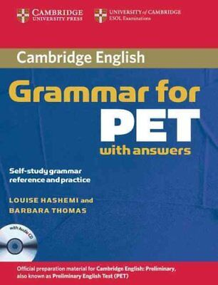 Cambridge Grammar for PET Book with Answers and Audio CD Self-S... 9780521601207