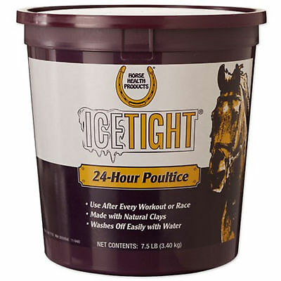 Ice Tight 24 Hour Poultice For Horses Ankles,Tendons Natural Clays