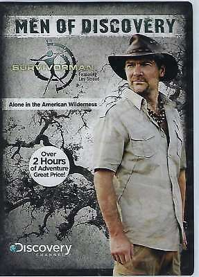 New: MEN OF DISCOVERY - Survivorman: Alone In The American Wilderness DVD