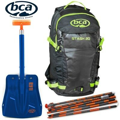 Arctic Cat BCA Backcountry Kit Stash Backpack B-1 EXT Shovel 270 Probe, 8639-101