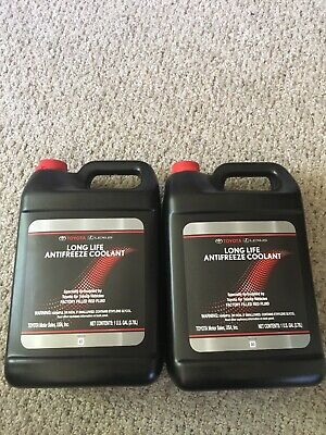 2 Gallon, Long Life RED Coolant Antifreeze Genuine Lexus Toyota FAST SHIPPING!!!