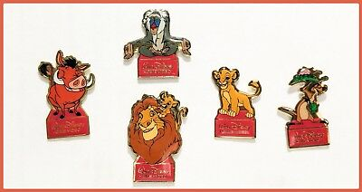 Disney Character Lion king Pins Set Of 5.  Multiple Sets Available!