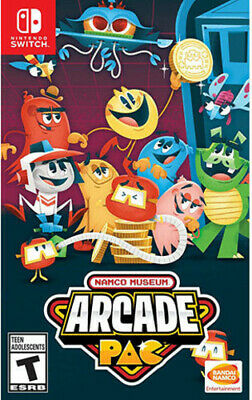 NAMCO Museum Arcade Pac for Nintendo Switch [New Switch]