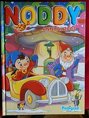 Noddy Annual 2003 by Anon Hardback Book The Cheap Fast Free Post